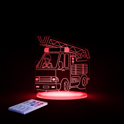 Fire Engine Night Light