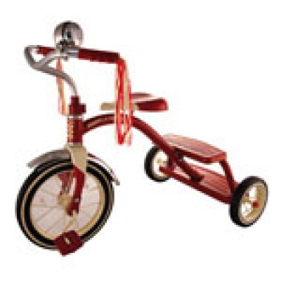 "Classic Red Tricycle (12"")"