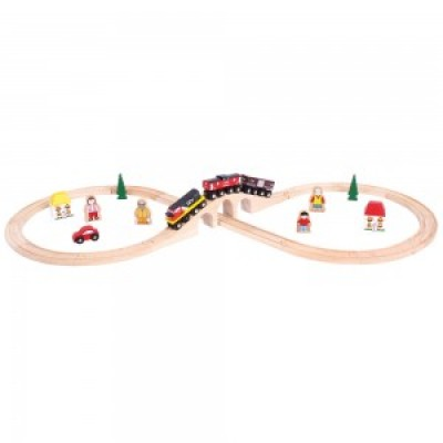 CN Figure of Eight Train Set (30 pce)