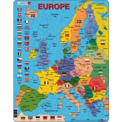 Card Puzzle - Reg. Europe