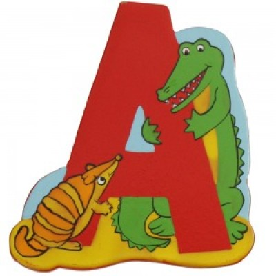 Magnetic Animal Letter - upper case A (6)