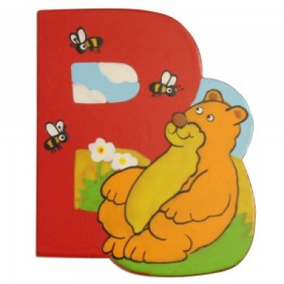 Magnetic Animal Letter - upper case B (6)