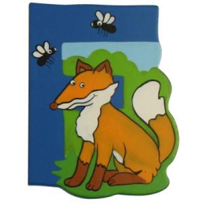 Magnetic Animal Letter - upper case F (6)