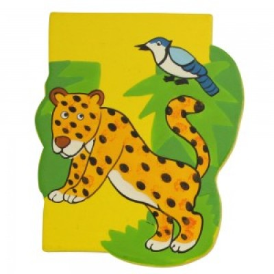 Magnetic Animal Letter - upper case J (6)