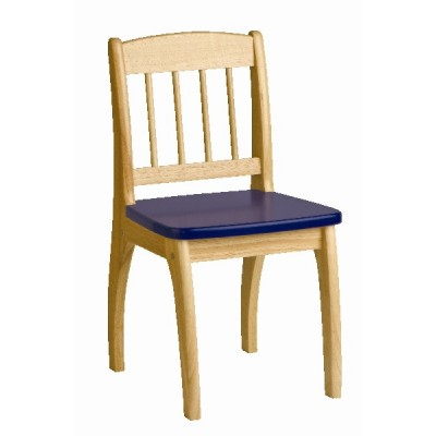Wooden Junior Chair (blue)