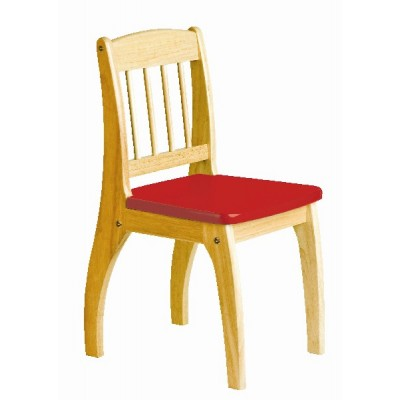 Wooden Junior Chair (red)