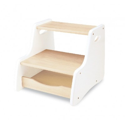 White Step Stool