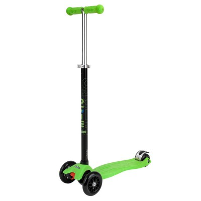 maxi micro scooter lime green t bar. Black Bedroom Furniture Sets. Home Design Ideas