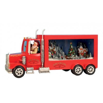 Music Box - Santa Truck (medium)