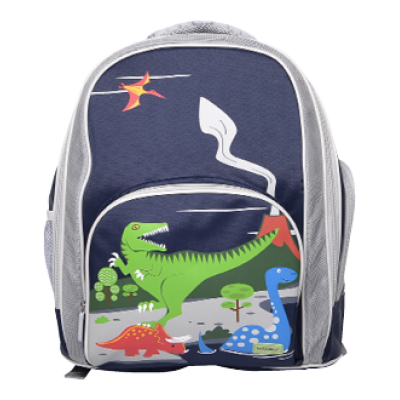 School Backpack - Dinosaur