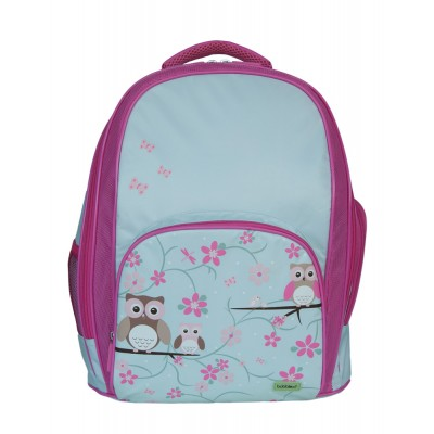 School Backpack - Owl