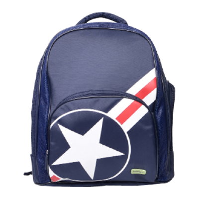 School Backpack - Star & Stripes